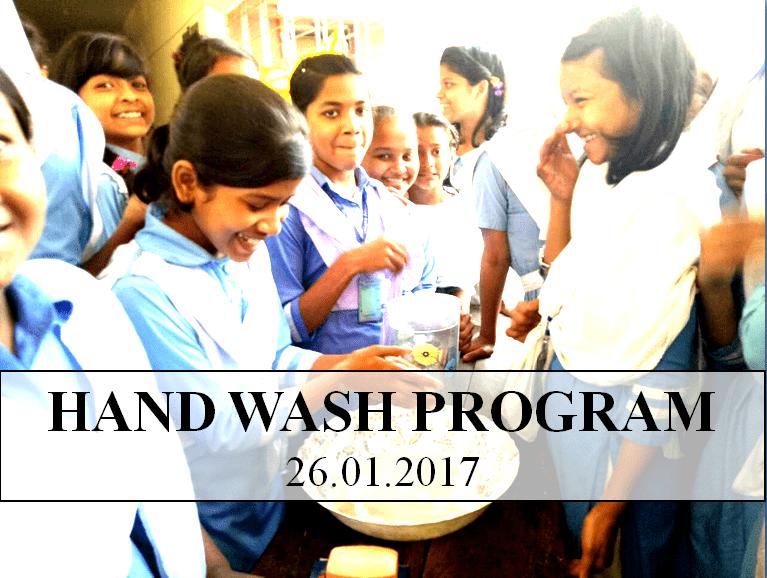 Hand Wash Program 26.01.2017